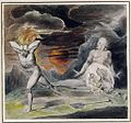 Blake Cain Fleeing from the Wrath of God (The Body of Abel Found by Adam and Eve) c1805-1809.jpg