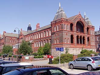 Liverpool Royal Infirmary - Image: Block C, Waterhouse building
