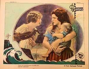 The Blonde Saint - Lobby card
