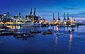 Blue hour @ West Coast Park Singapore (5486856602).jpg