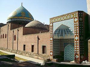 Islam in Armenia - The Blue Mosque, Yerevan.