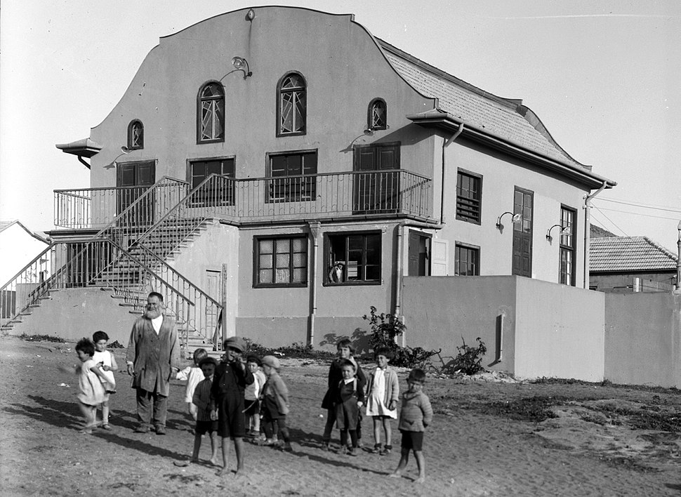 Bnai Brak. The synagogue. 1920-1933. matpc.02675