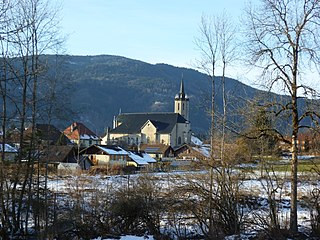 Boëge Commune in Auvergne-Rhône-Alpes, France