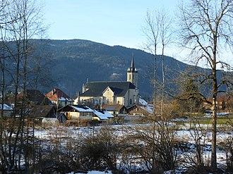 Boëge - The church in Boëge