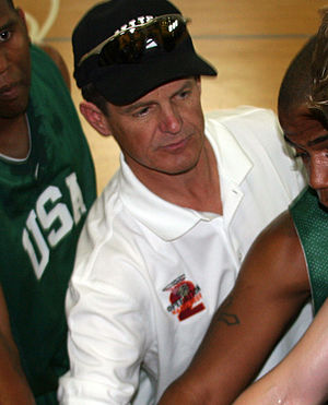 Charlotte 49ers men's basketball - Bobby Lutz. Charlotte head coach from 1998–2010