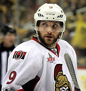 Bobby Ryan - Ryan with the Senators in the 2017 playoffs