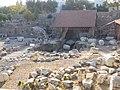 Bodrum, centrální část vykopávek Mauzolea.jpg