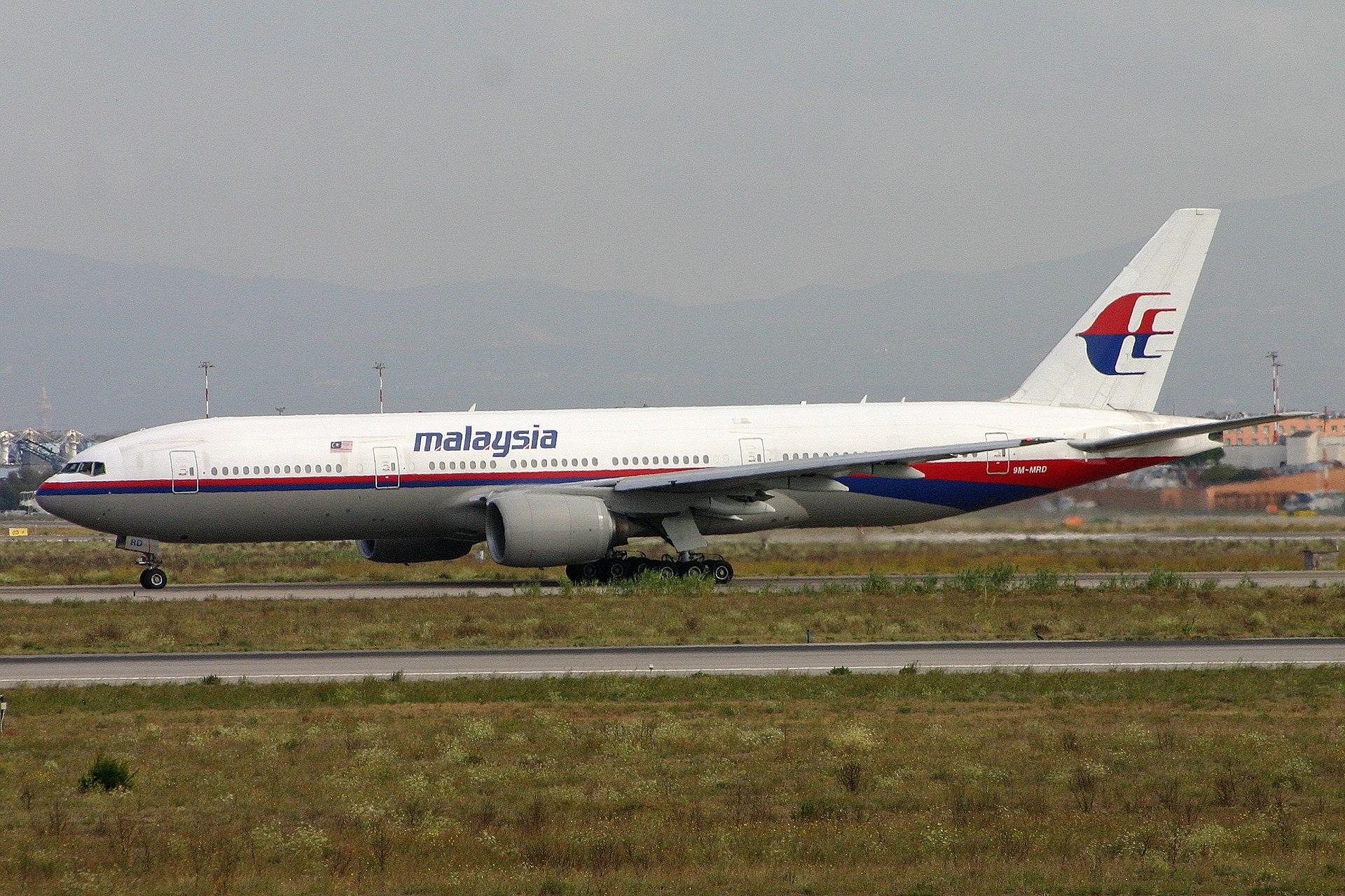 Boeing 777-2H6ER 9M-MRD Malaysian (6658105143).jpg