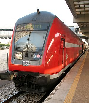 Bombardier Double-deck Coach - In use by Israel Railways