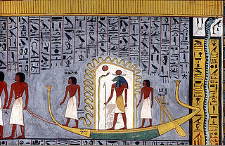 ancient Egyptian tomb in the Valley of the Kings