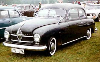 Borgward Hansa 1500 - Borgward Hansa 1500 2-door saloon