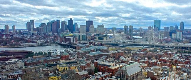 Boston from bunker hill