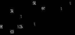 Struktur von Bosutinib