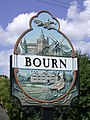 Bourn Village Sign - detail - geograph.org.uk - 871660.jpg
