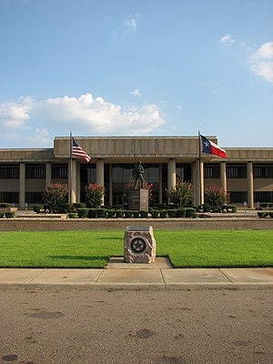 Bowie County, Texas - Image: Bowie County Courthouse