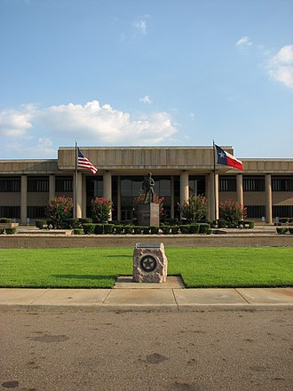New Boston, Texas - Bowie County Courthouse