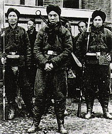 September 7: The Boxer Rebellion in China ends with the signing of the Peking Protocol. BoxerSoldiers.jpg