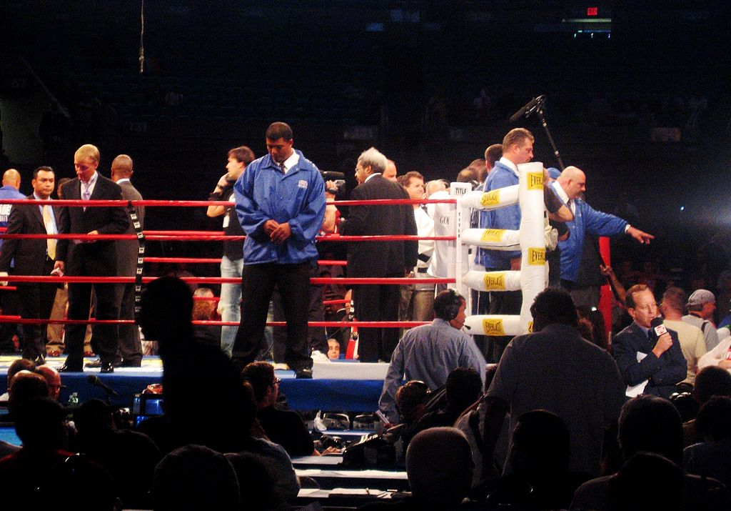 File Boxing At Msg Oct Wikimedia Commons