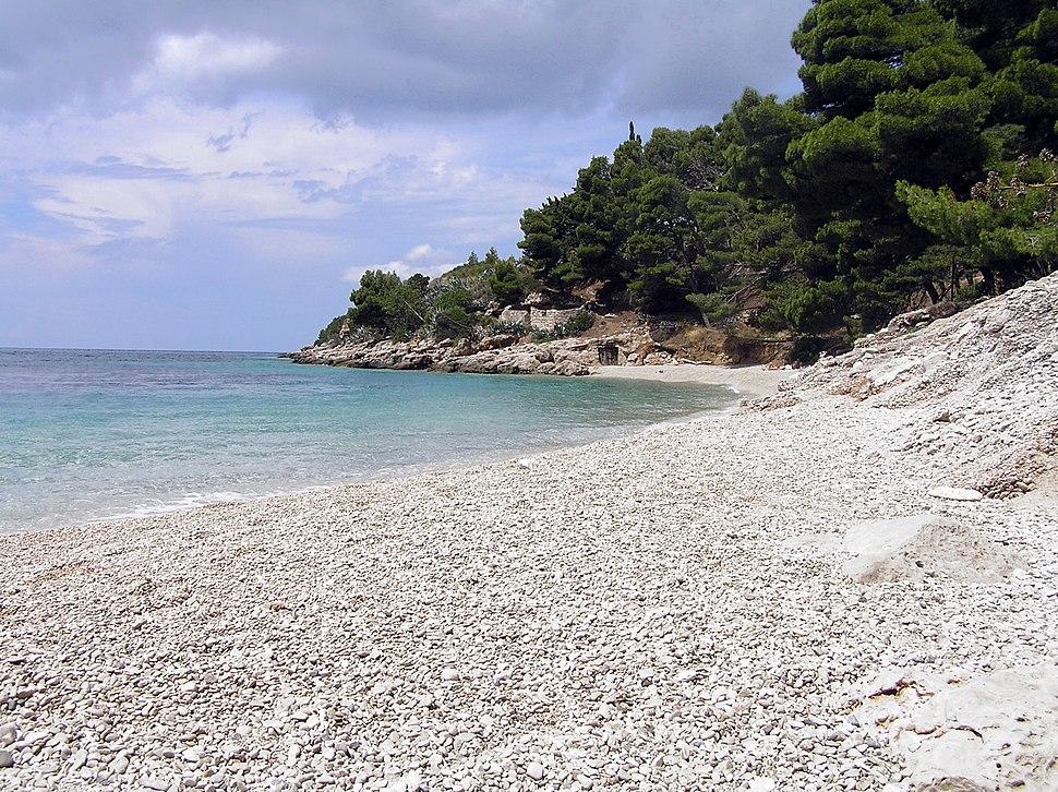 Plaža na Braču