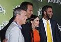 Brad Fuller, Will Arnett, Megan Fox, Andrew Form (15164062002).jpg