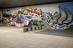 Bratislava.Staré Mesto. Most SNP Street art.jpg