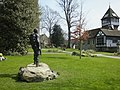 Brenchley Gardens 36th Engineer Statue 0124.JPG