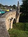 Bridge over Gombás-brook (NW). - Vác.JPG