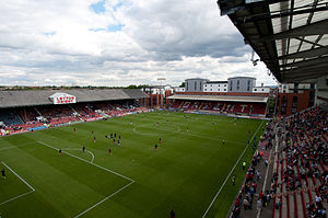 Die Brisbane Road in London