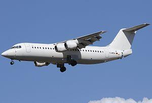 WDL Aviation - WDL Aviation BAe 146-300