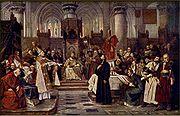 Brožík, Václav - Hus před koncilem 6. července 1415
