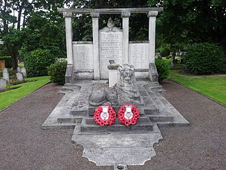 Royal Star and Garter Home, Richmond - The Bromhead Memorial, in the nearby Richmond Cemetery,  commemorates deceased residents of the Home