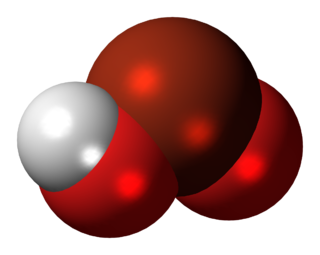 Bromous acid chemical compound
