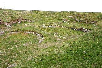 South Uist - Cladh Hallan roundhouses