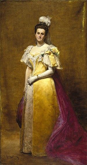 Emily Warren Roebling - Portrait of Emily Warren Roebling by Carolus-Duran, Brooklyn Museum