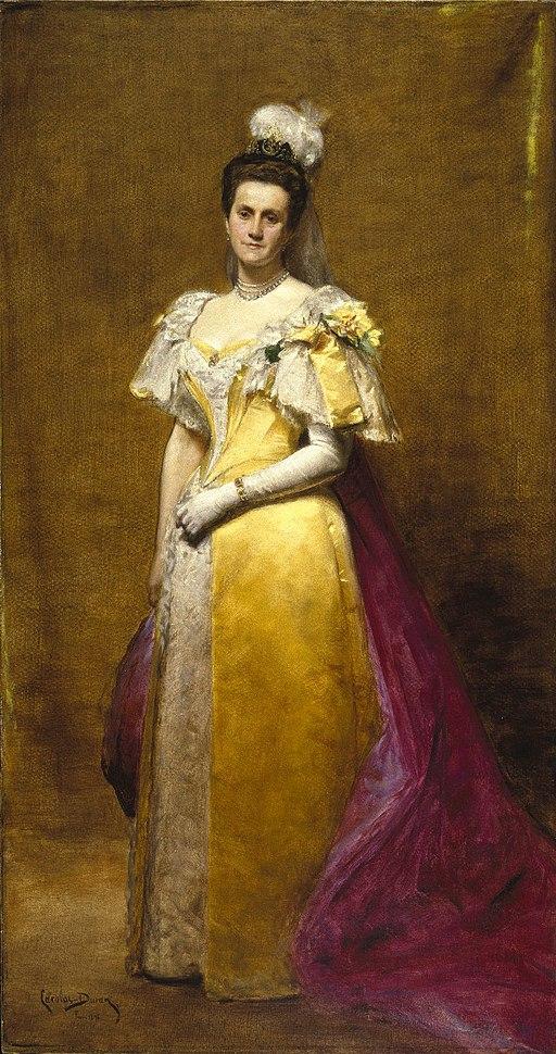 Brooklyn Museum - Portrait of Emily Warren Roebling - Charles-Émile-Auguste Carolus-Duran