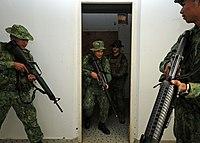 Close quarters combat - Wikipedia