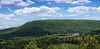 Buck Mountain in Black Creek Township, Luzerne County, Pennsylvania.jpg