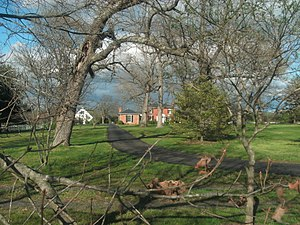 National Register of Historic Places listings in Buckingham County, Virginia - Image: Buckingham Female Collegiate Institute Historical District Henry Brown House