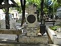 Bucuresti, Romania, Cimitirul Bellu Ortodox (Mormantul lui Eugen Barbu).JPG