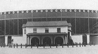 Houston Buffaloes - Buffalo Stadium, the longest-serving and final ballpark of the Houston Buffaloes from 1928 through 1961