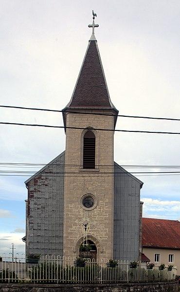 Église de Bugny (Doubs).