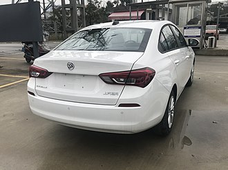 Buick Excelle - Buick Excelle second generation rear