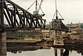 Building the Metro Bridge across the Tyne, 1978 - geograph.org.uk - 1077665.jpg