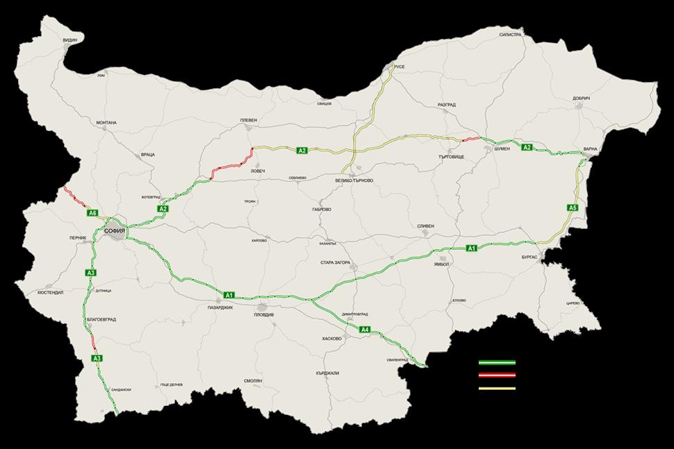 Bulgaria Highways