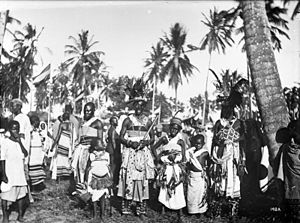 Zaramo people - Zaramo in German East Africa (1906)