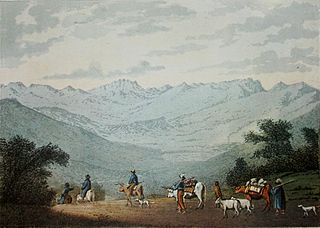 Sneeuberge Mountain range near Nieu-Bethesda, Eastern Cape, South Africa