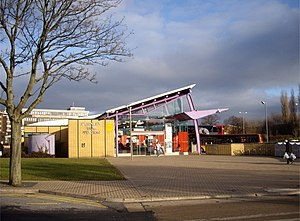 Burnley bus station - Image: Burnley Bus Station geograph.org.uk 1243525