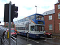 Bus on Brayford Way, Lincoln, England - DSCF1603.JPG