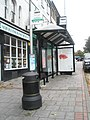Bus shelter at the top of the High Street - geograph.org.uk - 994921.jpg