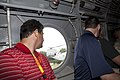 Business leaders attending a Marine Corps Executive Forum (MCEF) ride in a Marine Corps CH-46 Sea Knight helicopter prior to departing Joint Base Anacostia-Bolling in Washington, D.C., July 11, 2013 130711-M-MI461-188.jpg
